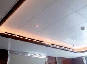 Atena controsoffitti metallici in pannelli Atena metal ceiling panels