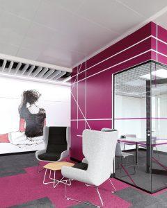 Atena controsoffitti metallici in pannelli 60x60 Atena metal ceiling panels 60x60
