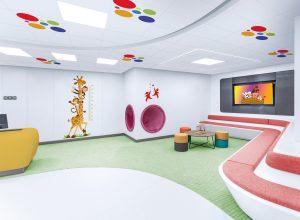 Atena constrosoffitti a tenuta ospedialieri healthcare metal ceilings