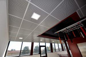 Atena controsoffitto in pannelli PLAN Atena Plan metal ceilings