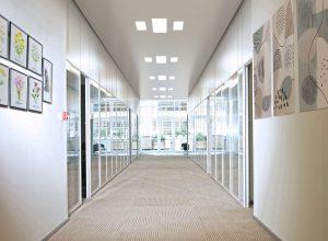 Architectural ceiling | Atena | Z System corridor
